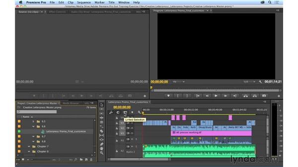 Customizing the keyboard: Premiere Pro CC Essential Training (2014)