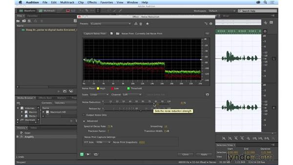 Sending your sequence to Audition for audio cleanup: Premiere Pro CC Essential Training (2014)