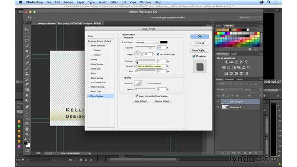 Working with Photoshop titles in Premiere Pro: Premiere Pro CC Essential Training (2014)