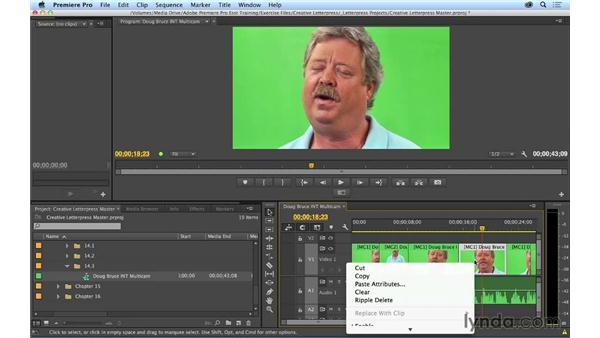 Refining the multicam edit: Premiere Pro CC Essential Training (2014)