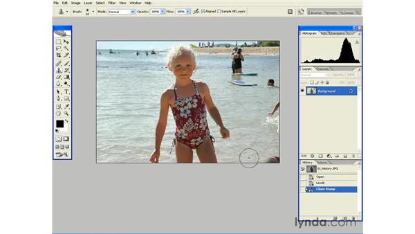 Undo and History: Photoshop CS2 Essential Training