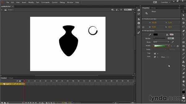 Using the new Width tool: Flash Professional: Creative Cloud Updates