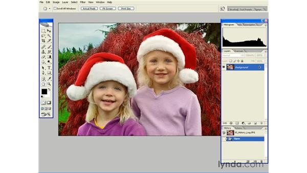 Creating a History Log: Photoshop CS2 Essential Training