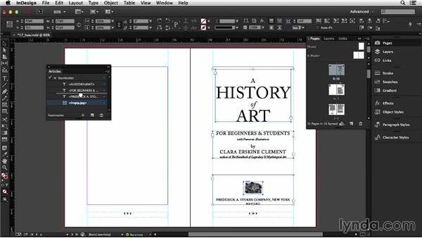 Exporting a reflowable EPUB (CC 2014): InDesign CC Essential Training (2013)