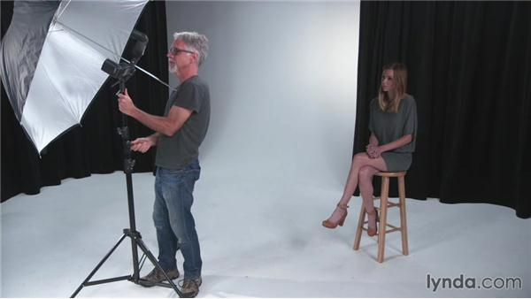 Shooting a three flash portrait: The Practicing Photographer