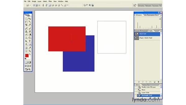 Shape Tools Essentials: Photoshop CS2 Essential Training