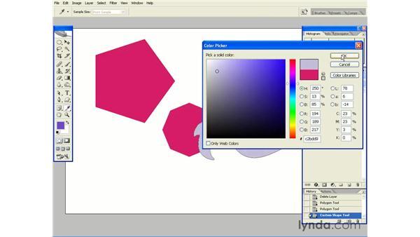 Creating Custom Shapes: Photoshop CS2 Essential Training