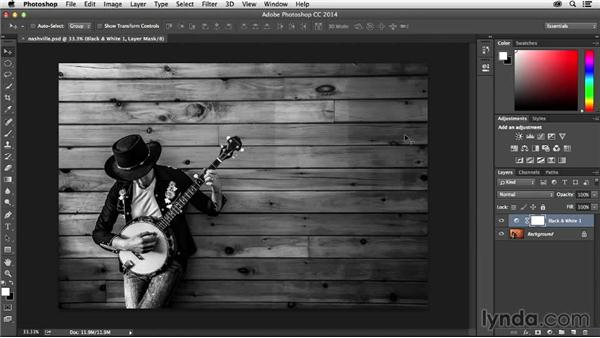 Round-trip editing with Photoshop: Muse Essential Training