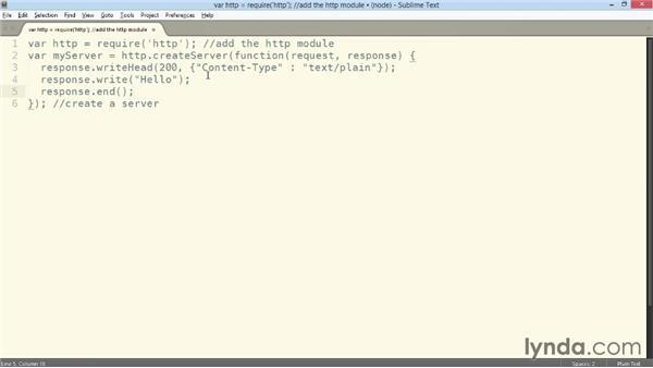 Building a Hello Node.js application: Building a Website with Node.js and Express.js (2014)