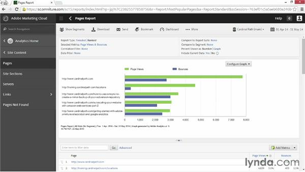 Using graph types: Up and Running with Adobe Reports and Analytics