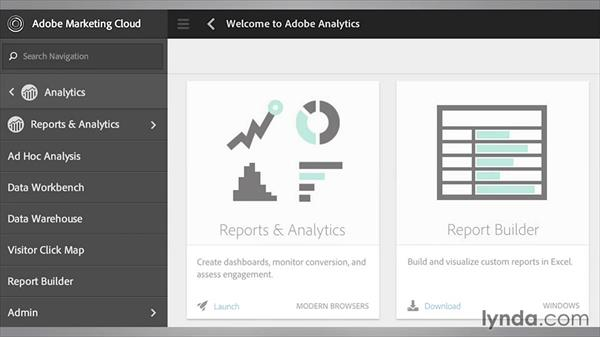 Installing and logging into the Report Builder: Up and Running with Adobe Reports and Analytics