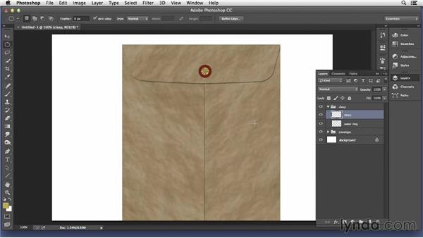 Creating a manila envelope: Pixel Playground