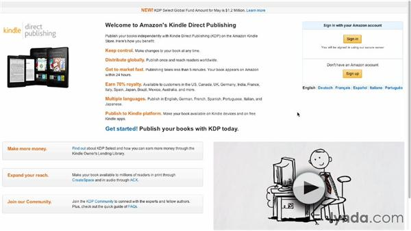 Amazon's Kindle Direct Publishing (KDP): Creating Ebooks for the Kindle
