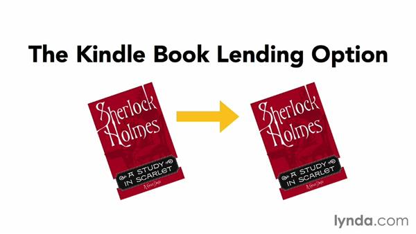 Amazon's lending options: Creating Ebooks for the Kindle