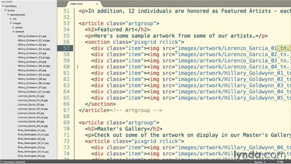 Including our JavaScript files: Web Project Workflows with Gulp.js, Git, and Browserify