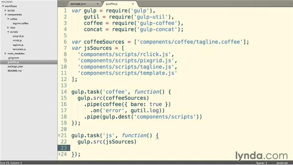 Combining our JavaScript: Web Project Workflows with Gulp.js, Git, and Browserify