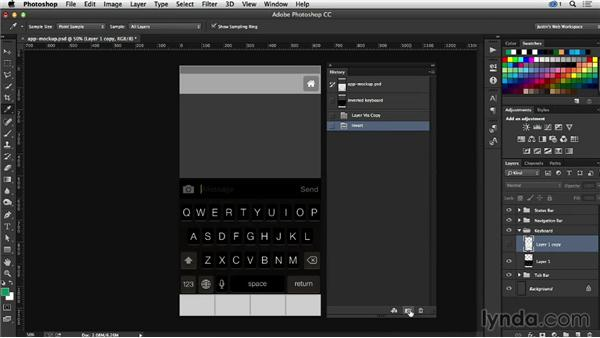 Using the snapshots feature in Photoshop: Creative Quick Tips