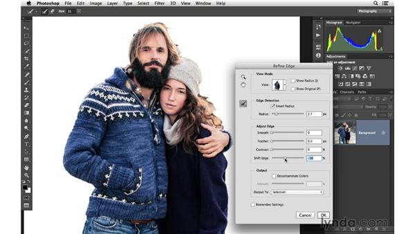 Using Focus Area to modify color (CC 2014): Photoshop CC for Photographers: Fundamentals