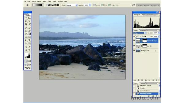 Tonal Correction with Screen and Multiply: Photoshop CS2 Essential Training