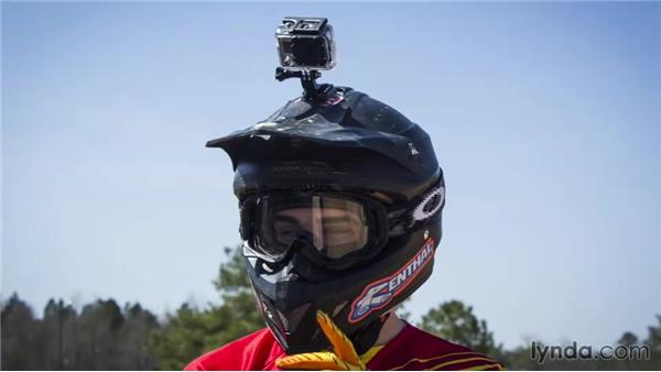 Top gear from the shoot: Shooting with the GoPro HERO: Car and Motorcycle Mounts