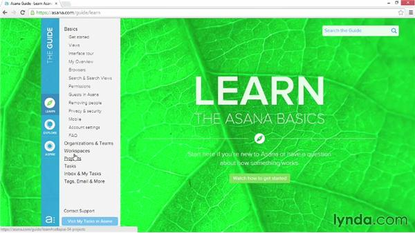 Next steps: Up and Running with Asana