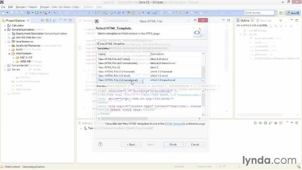 Welcome: Java EE Essentials: Servlets and JavaServer Faces