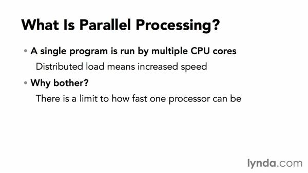 What is parallel processing?: Java EE Essentials: Servlets and JavaServer Faces
