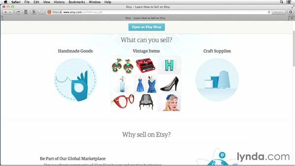 What you can sell on Etsy: Selling on Etsy