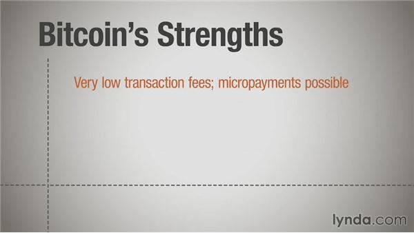 Bitcoin strengths and weaknesses: Up and Running with Bitcoin