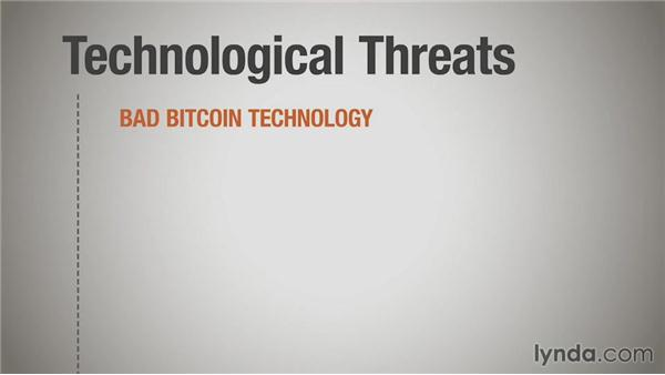 Examining threats to the bitcoin economy: Up and Running with Bitcoin