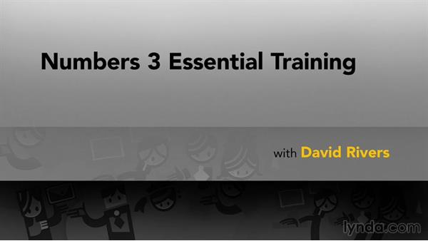 Next steps: Numbers 3 Essential Training