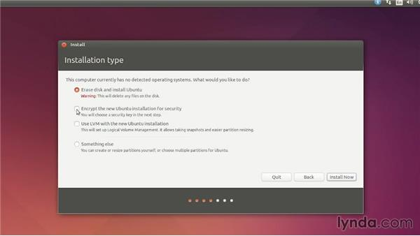 Installing Ubuntu as the only operating system: Up and Running with Ubuntu Desktop Linux