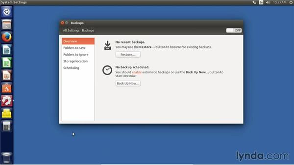 Exploring the hardware and system settings: Up and Running with Ubuntu Desktop Linux