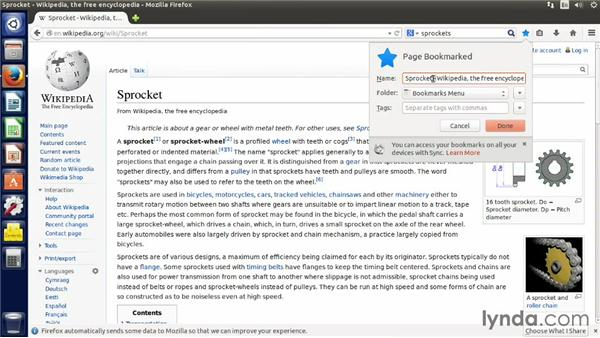 Browsing the web: Up and Running with Ubuntu Desktop Linux