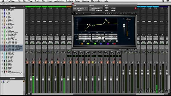 Giving your lead vocalist the star treatment: Mixing an EDM Track