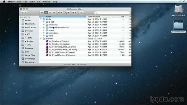 Exercise files: Premiere Pro Guru: Mastering the Timeline