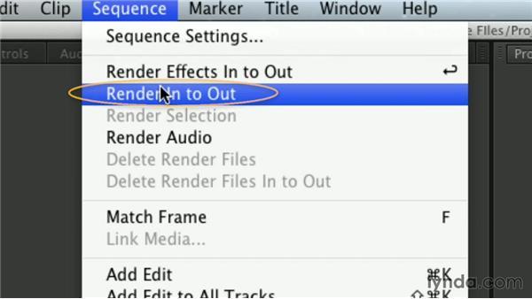 Understanding rendering: Premiere Pro Guru: Mastering the Timeline