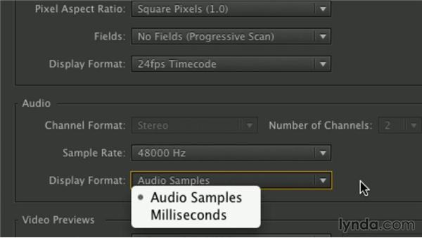 Sequence settings: Premiere Pro Guru: Mastering the Timeline
