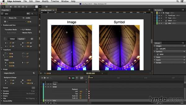 Comparing Flash and Edge Animate interfaces: Migrating from Flash to Edge Animate