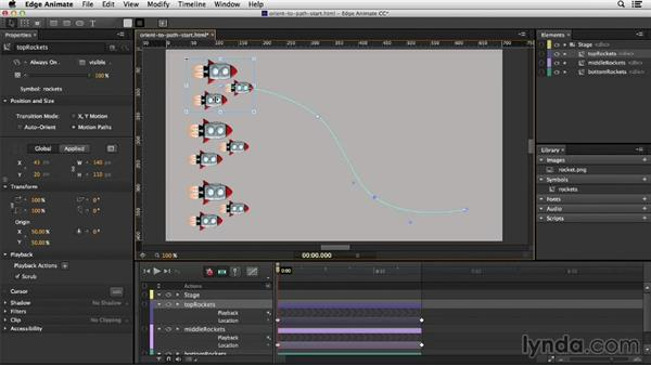 Utilizing Orient to Path: Migrating from Flash to Edge Animate