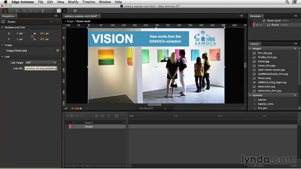 Exporting the project: Migrating from Flash to Edge Animate