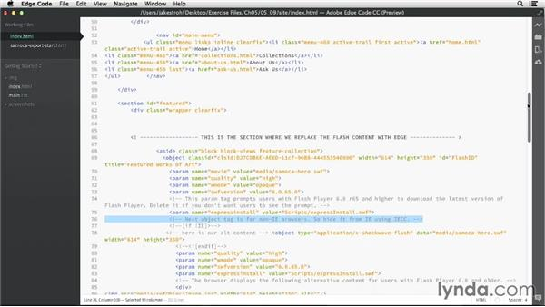 How Edge Animate and Flash implement content on the web: Migrating from Flash to Edge Animate