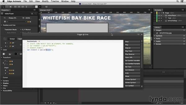 Working with video in an Edge Animate project: Migrating from Flash to Edge Animate