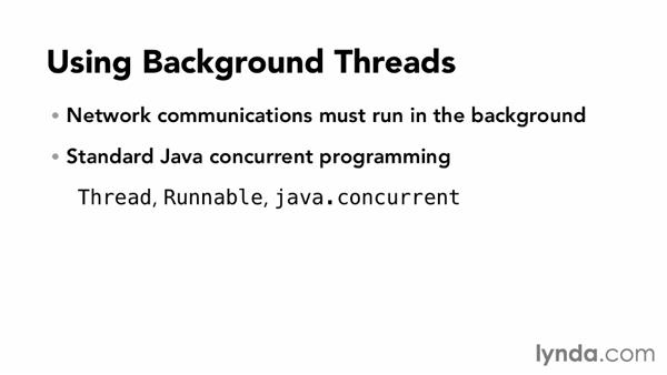 Working with background threads in Android: Connecting Android Apps to RESTful Web Services