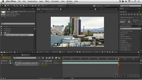 Adding motion in post: Shooting a Time-Lapse Movie with the Camera in Motion