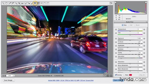 Using lens profiles: Shooting a Time-Lapse Movie with the Camera in Motion