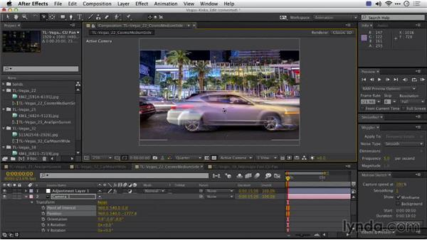 Post moves: Shooting a Time-Lapse Movie with the Camera in Motion