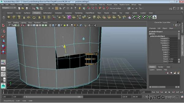 Merging vertices and edges