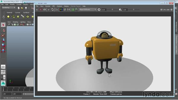 Overview of Maya renderers: Maya 2015 Essential Training