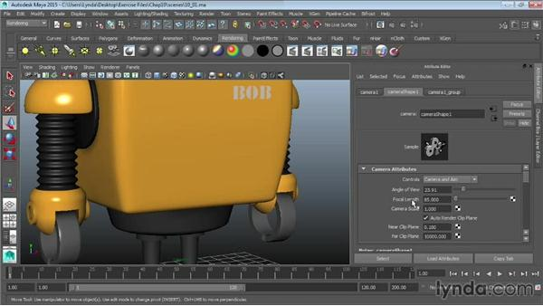 Understanding the basics of cameras: Maya 2015 Essential Training